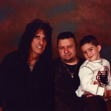 CJ and Alice Cooper - April 17 2010