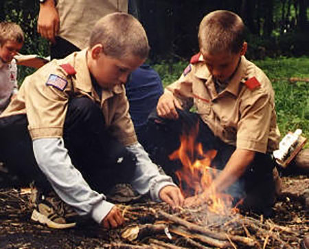 Scouts-camping