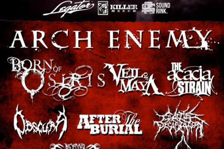 Le lineup du SUMMER SLAUGHTER TOUR 2015