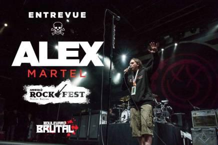 Entrevue plutôt intéressante avec AlexMartel