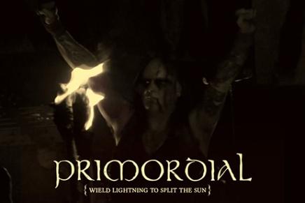 PRIMORDIAL t'offre un clip sombre et rempli defeu