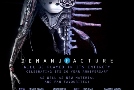Fear Factory va jouer DEMANUFACTURE au complet en Europe