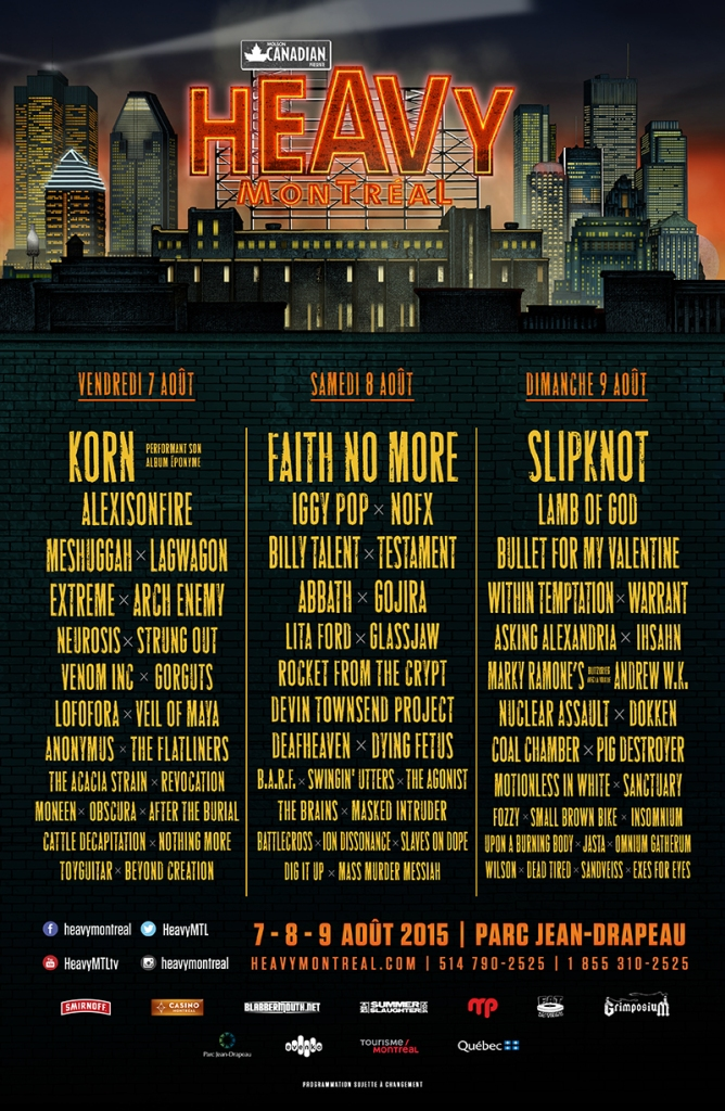 HEAVY DAILY LINEUP FR