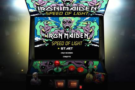 Le jeu IRON MAIDEN Speed of Light disponible