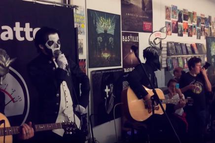VIDÉO – la performance unplugged deGHOST
