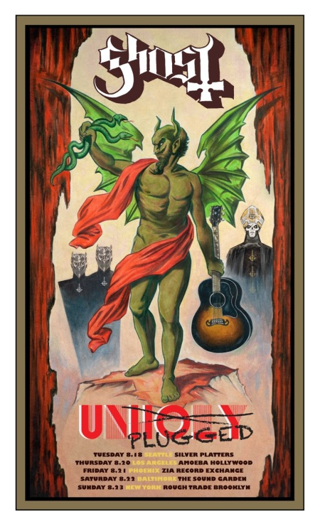Ghost-Unholy-acoustic-tour-poster