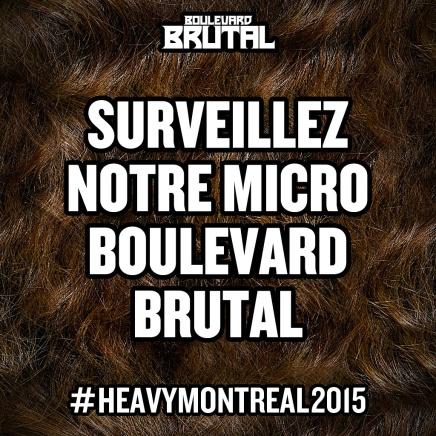 #heavymontreal2015 JOUR 3