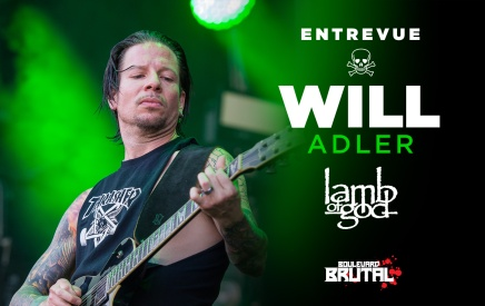 [Entrevue] Will Adler de LAMB OF GOD était tanné d'avoir l'air d'un pneu