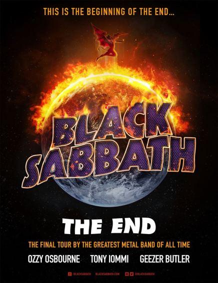 BLACK SABBATH à Montréal en février2016!