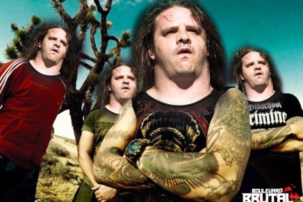 George de Cannibal Corpse dans EKTOMORF