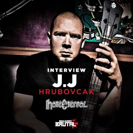 Entrevue avec J.J. Hrubovcak de HateEternal