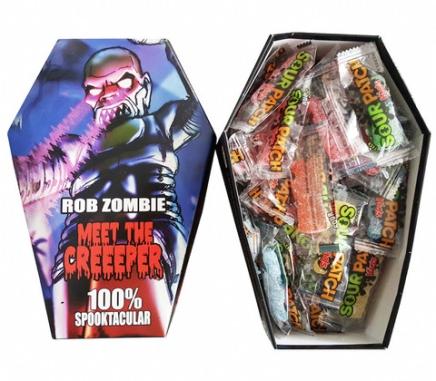 Rob Zombie a sa ligne debonbons