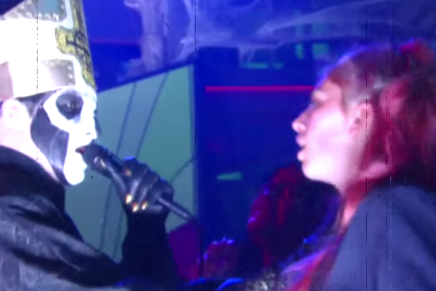 La performance de GHOST au Late Show de Stephen Colbert