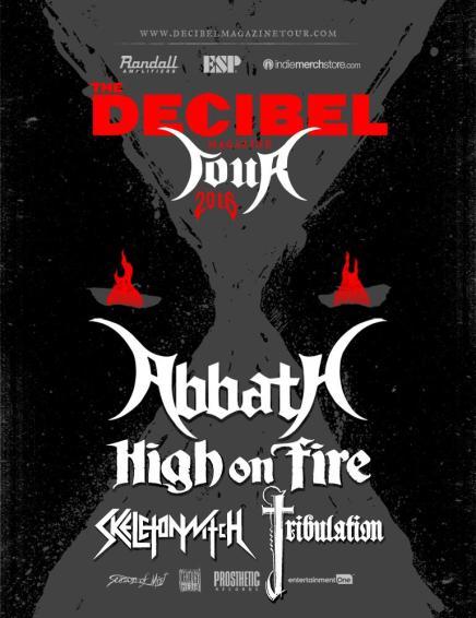 Le lineup du DECIBEL TOUR 2016 estmalade!!!