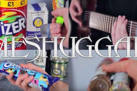 Il joue du Meshuggah avec des chosessucrées