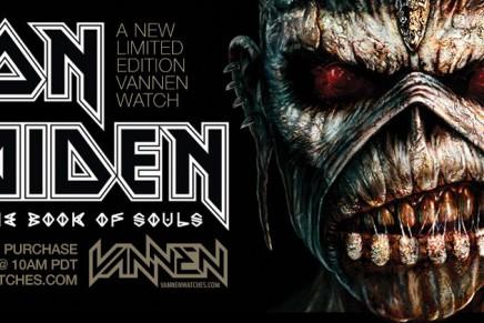 Une montre Iron Maiden chezVANNEN