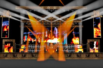 Voici le stage pour la tournée 2016 deMANOWAR