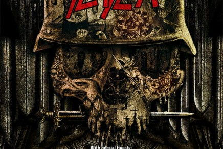 Les dates de la tournée SLAYER, CARCASS et TESTAMENT