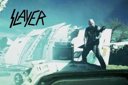 Slayer tease un nouveauclip
