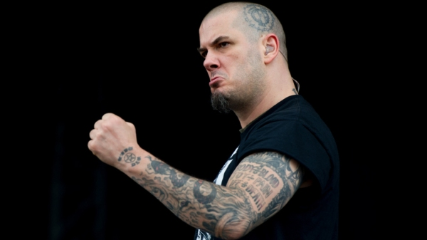 DONNINGTON, UNITED KINGDOM - JUNE 14: Phil Anselmo of Down performs onstage during Day 1 of The Download Festival at Donnington Park on June 14, 2013 in Donnington, England. (Photo by Ollie Millington/Getty Images)