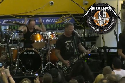 Metallica LIVE au Record Store Day