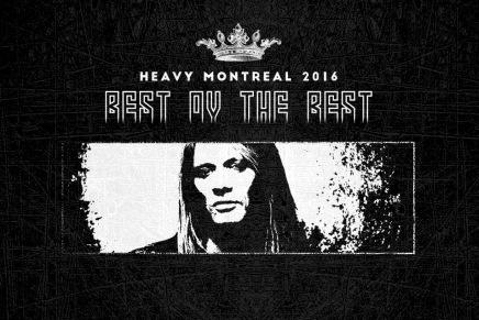 Décompte vers le Heavy Montréal 2016 — SEBASTIANBACH
