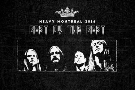 Décompte vers le Heavy Montréal 2016 —CARCASS