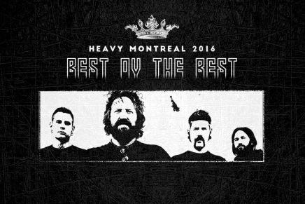 Décompte vers le Heavy Montréal 2016 —MASTODON