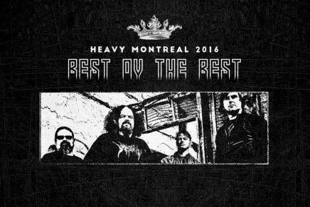 Décompte vers le Heavy Montréal 2016 — NAPALMDEATH