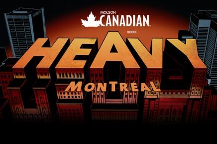 Horaire complet du Heavy Montréal2016