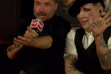 Marilyn Manson annonce son nouvelalbum!