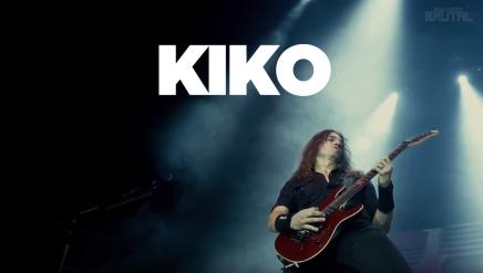 Admire le talent du beau Kiko dans le nouveau clip deMegadeth