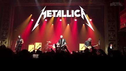 Metallica joue Moth Into Flame LIVE pour la premièrefois