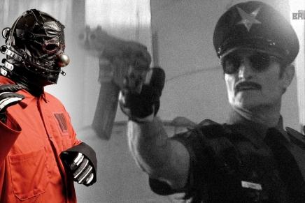 Clown de Slipknot réalise OfficerDowne