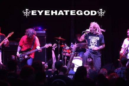 Performance complète d'EYEHATEGOD avec RandyBlythe