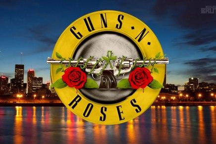 Guns N' Roses quekpart à Montréal, es-tuprêt?