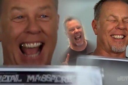 La grande tournée James Hetfield bat sonplein