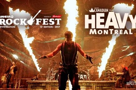Rammstein, Rockfest et HeavyMontréal