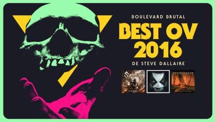 Le Best Ov 2016 de Steve Dallaire