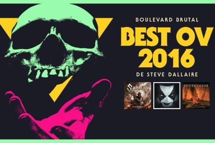 Le Best Ov 2016 de SteveDallaire