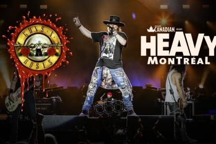 Qu'est-ce que la venue de Guns à Montréal signifie pour Heavy Montréal2017?
