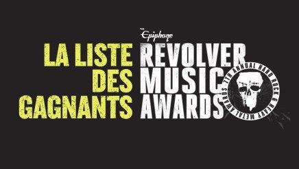 La liste des gagnants au Revolver MusicAwards