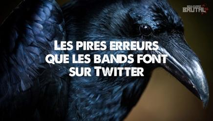 Les pires erreurs que les bands font surTwitter