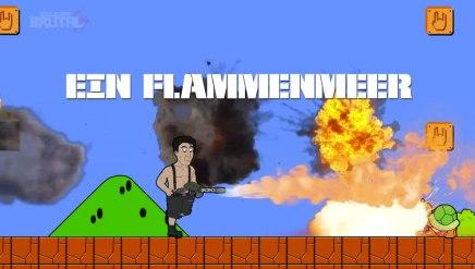 Till Lindemann de Rammstein dans Super MarioBros