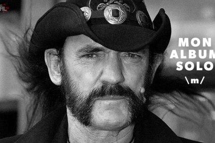 Un album solo de Lemmy va sortir cetteannée