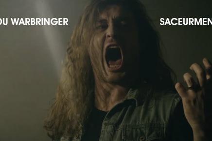 Le nouveau single de WARBRINGER est ici. C'bon encrisse.