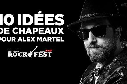 10 idées de chapeaux pour Alex Martel duRockfest