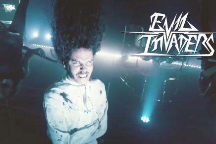 Le retour du heavy metal avec EVILINVADERS