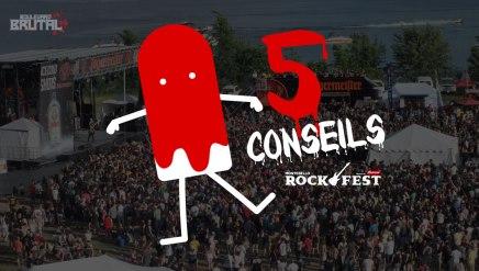 5 conseils pour bien vivre le Rockfest en étantmenstruée