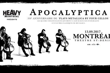 Vivre METALLICA avecApocalyptica